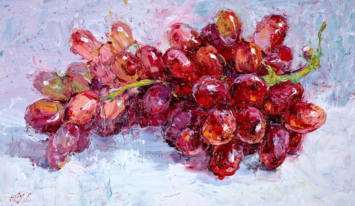 A Bunch of Red Grapes II